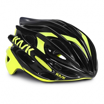Casque mojito Kask jaune fluo