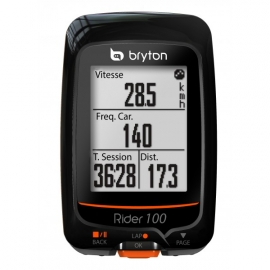GPS Bryton Rider 100 cardio et cadence