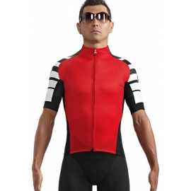 Maillot manches courtes Assos cento rouge