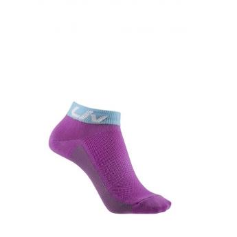 Socquettes vélo femme sunny violet