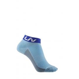 Socquettes vélo femme sunny bleu