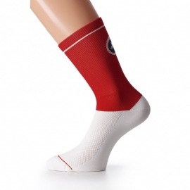Chaussettes Assos Yankee rouge