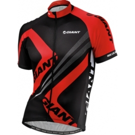 Maillot manches courtes Giant Triangle noir rouge
