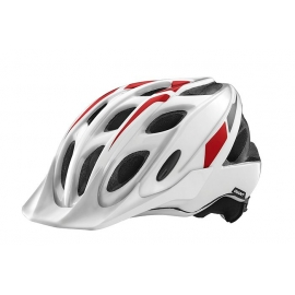 Casque VTT Giant Exempt blanc rouge