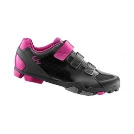 Chaussures VTT femme LIV Fera noir rose