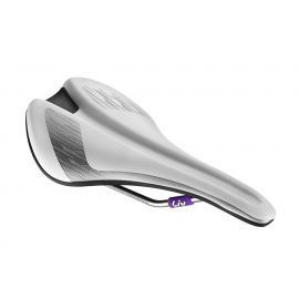 Selle velo femme Liv contact forward blanc