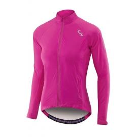 Veste pluie vélo femme Delphin LIV rose