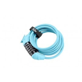 Antivol vélo Flex combo 8 mm bleu LIV