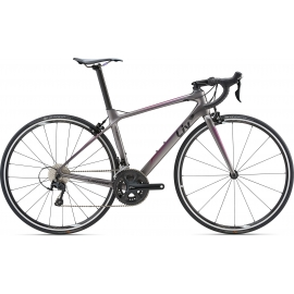 Vélo route femme langma advanced 2 gris 105 2018