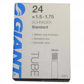 Chambre à air 24 x 1.5-1.75 valve standard 35mm