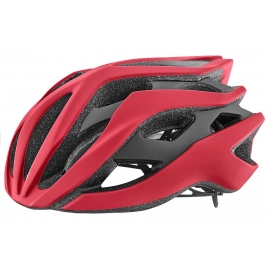 Casque velo Giant Rev rouge mat