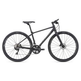 Vélo femme route fitness LIV Thrive 1 disc noir 2020