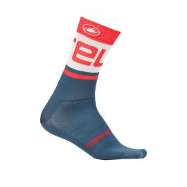 Chaussettes Free kit 13 bleu rouge