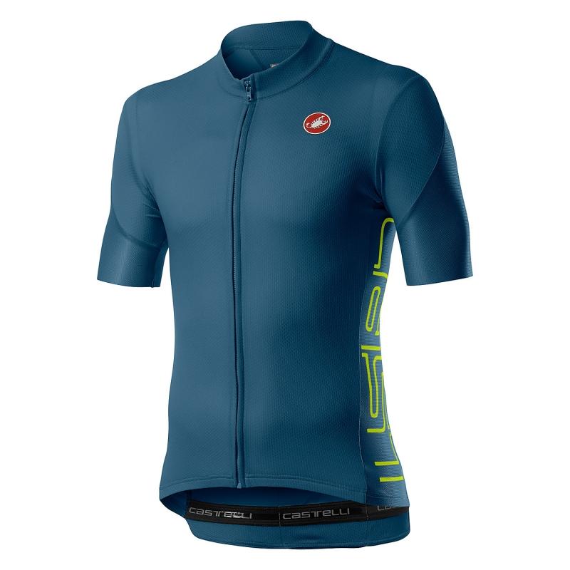 Vlago Maillot de Cyclisme pour Hommes Maillot /à Manches Courtes Respirant /à s/échage Rapide pour Cycliste et Cycliste avec Gel 3D rembourr/é