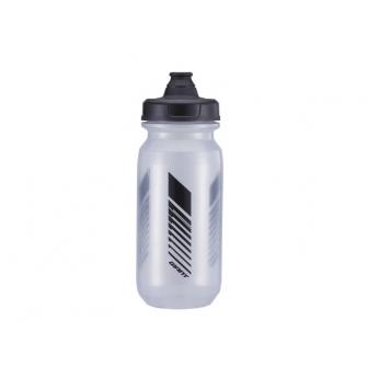 Bidon cleanspring transparent gris