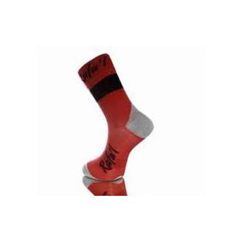 Socquette Rafa'l Celeste noir rouge