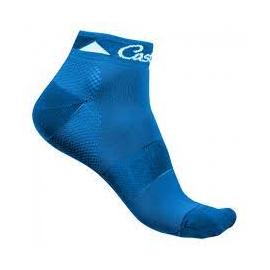 Chaussettes Castelli brillante bleu