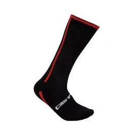 Chaussettes Castelli Venti noir rouge