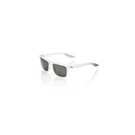 Lunettes de vélo 100% Centric gris blanc crystal