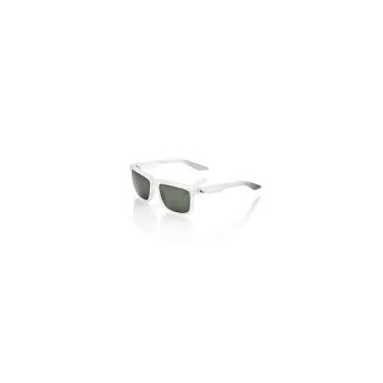 Lunettes 100% Centric gris blanc crystal