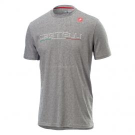 T-shirt manches courtes Castelli gris