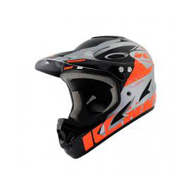 Casque BMX Kenny DH 2021 neon orange silver