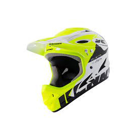Casque BMX Kenny DH 2021 neon yellow silver