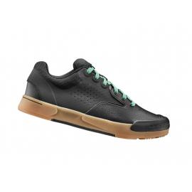 Chaussures VTT LIV SHUTTLE FLAT Noir/Vert