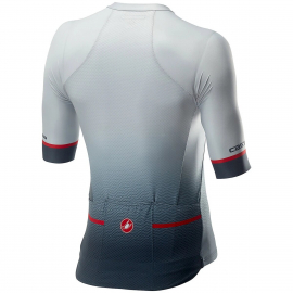 Maillot Spiuk manches courtes perf bleu rouge