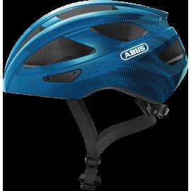 Casque vélo de route Abus macator bleu