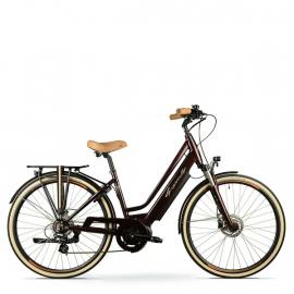 Vélo electrique ville Granville E-Smooth-2 Rosewood
