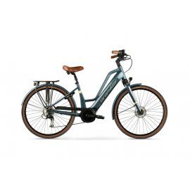 Vélo electrique ville Granville E-Smooth-2 Blanc